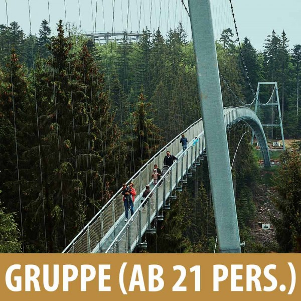 Online Ticket Gruppe (ab 21 Pers.)